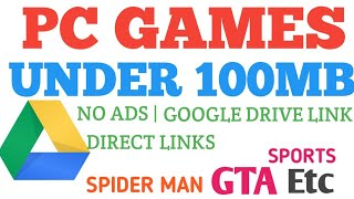 Top 5 Pc Games Under 100mb Direct Google Drive Download Link Highly Compressed Pc Games