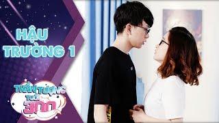 """Thần tượng tuổi 300 sitcom   Hậu trường 1: Tùng Maru và màn """"khóa môi"""" cực ngọt ngào với Linh Đan"""
