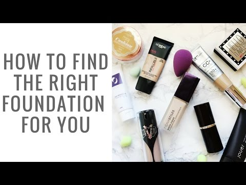 How to Pick the Best Foundation for YOU! || Foundation 101 - Elle Leary Artistry