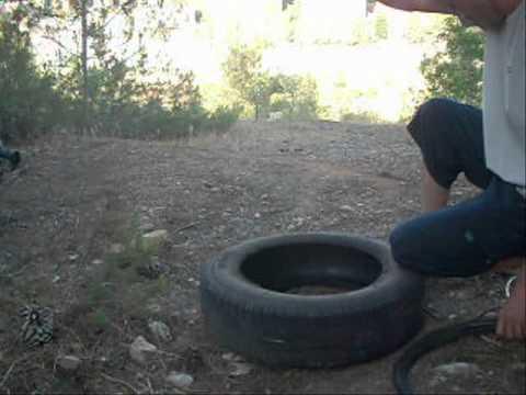 Making Huaraches - Part 1: Cutting (modern) tires