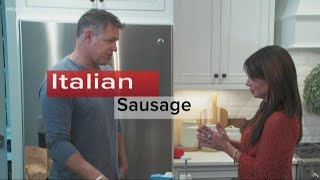 How to make Italian sausage soup with Jay Crawford and Hollie Strano