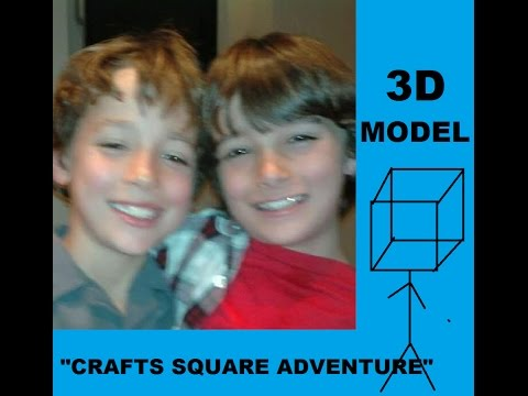 Robert Sloan and Dartanian Sloan 3D Model-Crafts Square Adventure Animation