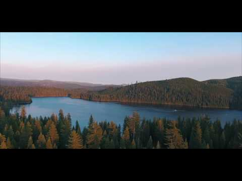 SUNSET UNION VALLEY RESERVOIR/ DJI PHANTOM 4