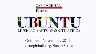 UBUNTU: Music and Arts of South Africa