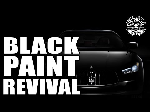 How To Polish Black Paint The Right Way! - Maserati GranTurismo - Chemical Guys TORQ 10FX