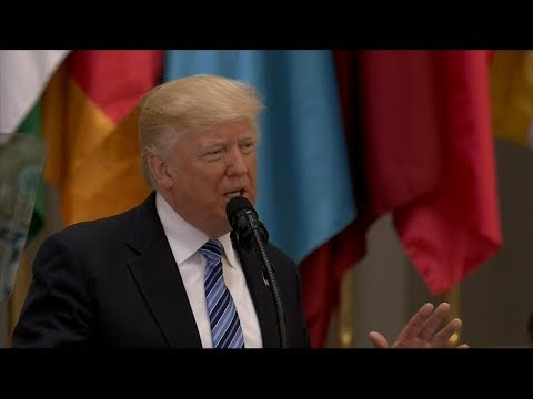 President Trump delivers remarks at Arab Islamic American Summit