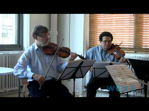 Endellion Quartet performs Haydn's String Quartet Op. 50 No. 6, Poco Adagio (