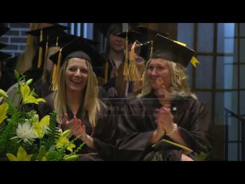 University of Iowa College of Nursing Commencement - May 14, 2016 on YouTube