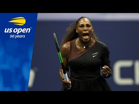 Highlights From Serena Williams 6-4, 6-3 QF Win Over Karolina Pliskova
