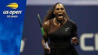 Highlights From Serena Williams 6-4, 6-3 QF Win Over Karolina Pliskova