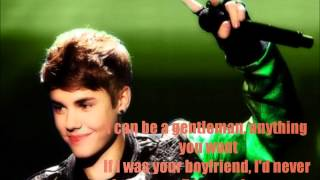 Boyfriend- Justin Bieber [Lyrics on screen]- HD Quality- Free Download