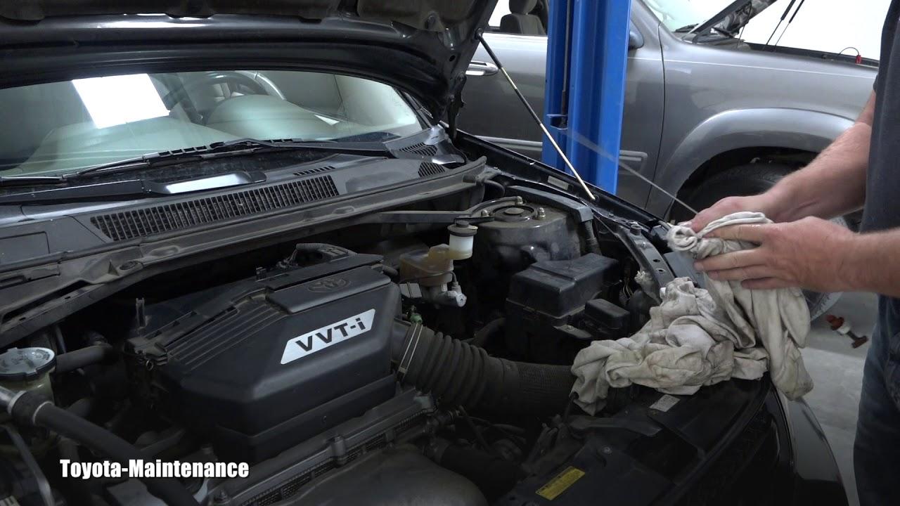 2001 toyota rav4 transmission fluid check