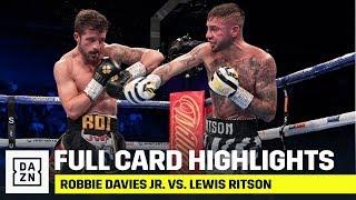 FULL CARD HIGHLIGHTS | Robbie Davies Jr. vs. Lewis Ritson