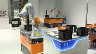 KUKA mobile robotics iiwa