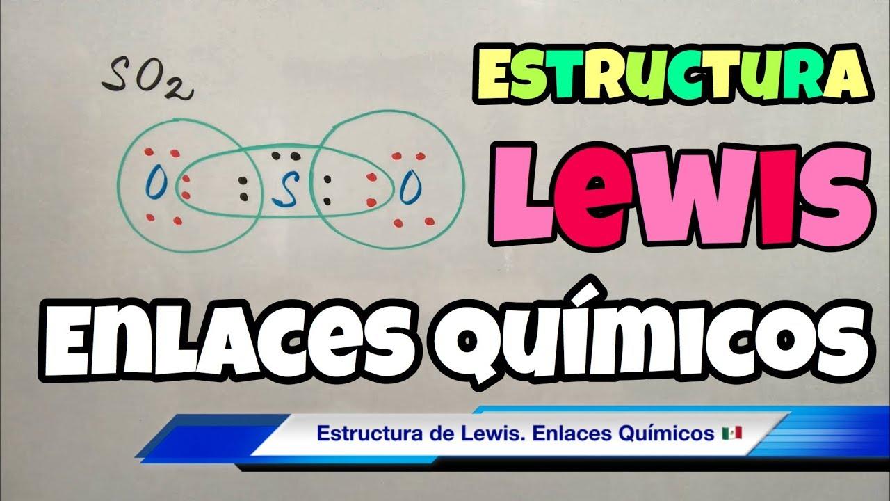 Estructura De Lewis Paso A Paso Enlace Covalente Y Iónico Youtube
