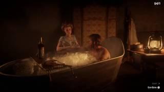 Red Dead Redemption 2 - Deluxe bath in Hotel (Valentine)