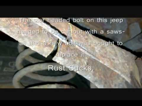 Rear upper and lower Control Arm Replacement Jeep Grand