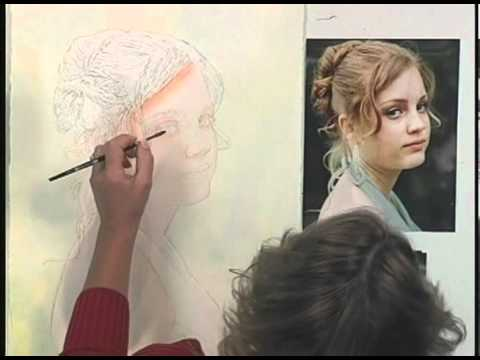 suzanna winton step by step watercolor portraits youtube