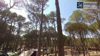 Video Camping Neus in Street View mode - L'Escala- Girona, Spain