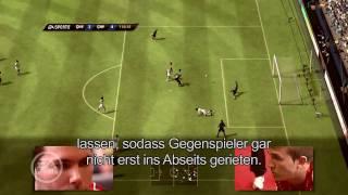 FIFA 11 Spielerpositionierung