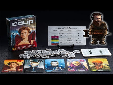 Coup - Board Games with Bearded Bros