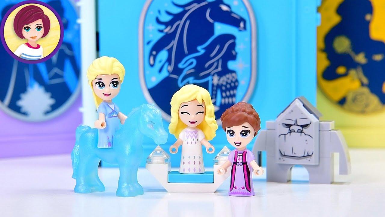 Two Elsas! Teeny minidolls! Elsa and the Nokk - Lego Frozen 2 Build & Review