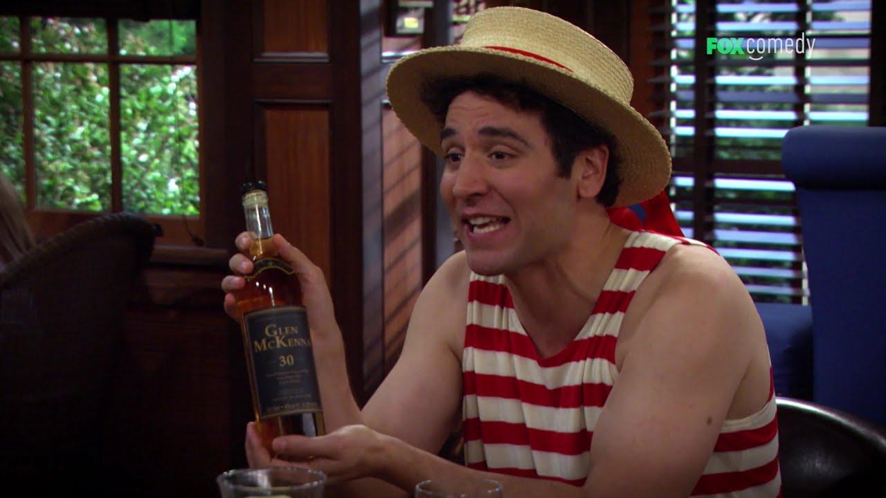 Zachwycił się smakiem whisky, do którego dodały mydło i ketchup! [Jak poznałem waszą matkę]