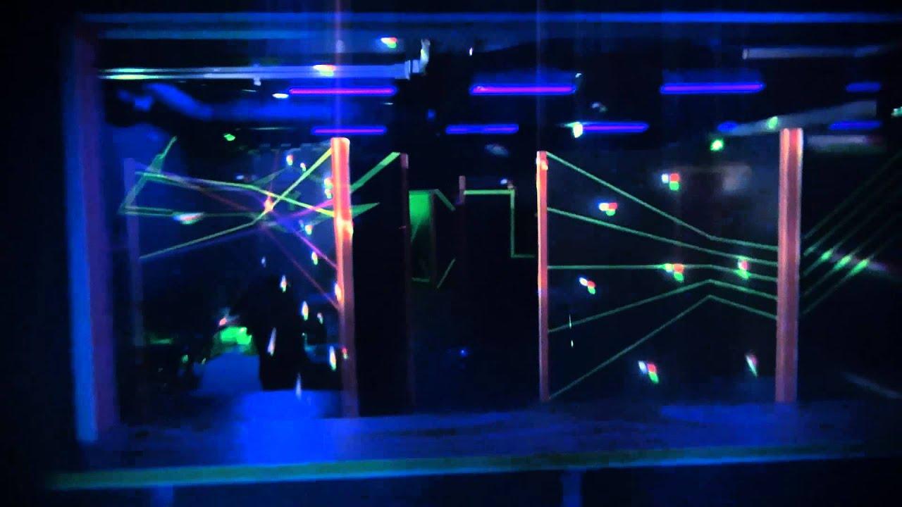 Lasertag Revolution Wolfsburg - YouTube
