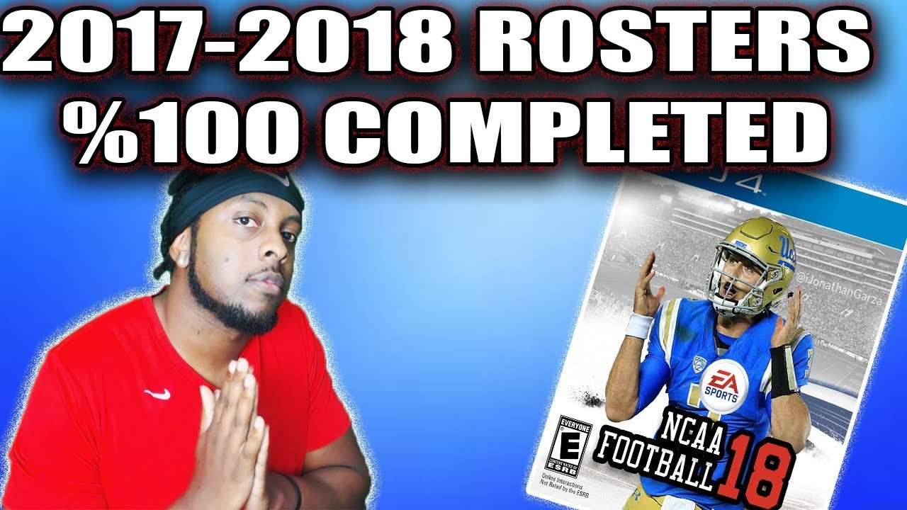 NCAA Football 19 Rosters (2018 Rosters for NCAA 14)