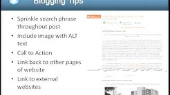 SEO Tips for 2012