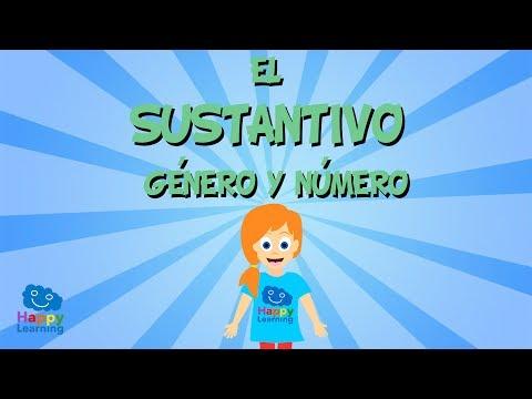 Los Sustantivos, Género y Número | Videos Educativos para Niños