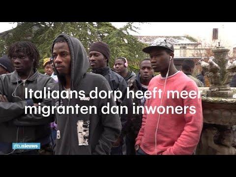 Italiaans dorp heeft meer migranten dan inwoners: 'Dit is waanzin'  - RTL NIEUWS