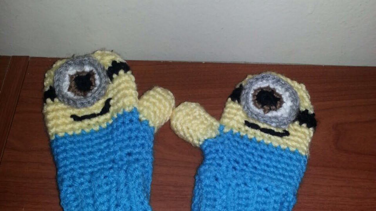 Make cute crocheted minion gloves style guidecentral youtube bankloansurffo Choice Image