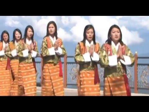 Dechen Lhundrup Bhutanese Music Video Traditional Song & Dance