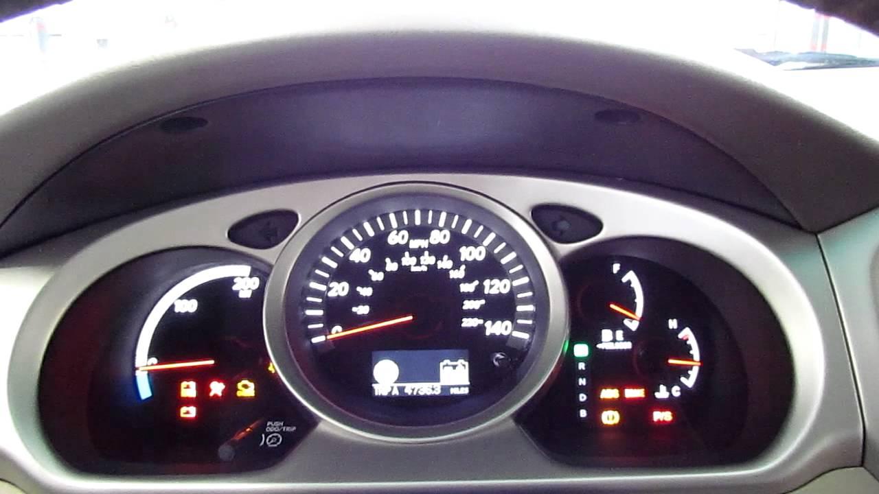 2006 Toyota Highlander Hybrid Startup And Walk Around
