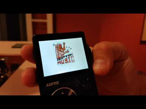 AGPTEK H01 Hi-Fi Lossless MP3 Player
