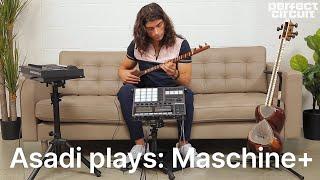 Asadi Plays: Native Instruments Maschine+ Standalone Groovebox