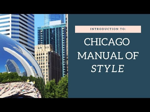 How To Use The Chicago Manual Of Style | Documentation Tutorial