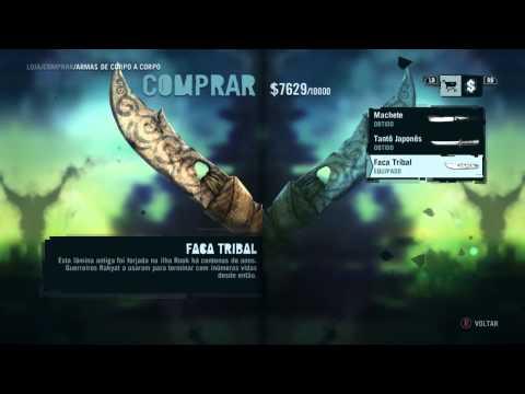 Como Conseguir a Faca Tribal e a Tatuagem no Braço Direito no Far Cry 3