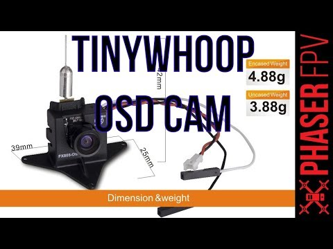 Tinywhoop Camera With OSD?! FX805 OSD Review