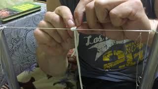 как сделать петлю на куропатку