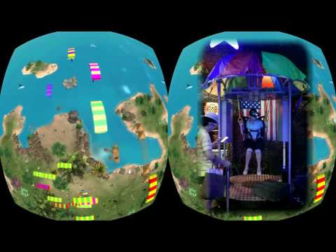 Video of Skydiving simulator