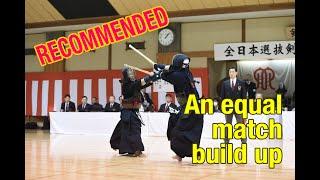 Hashimoto Keiichi (Saitama) M - M Takanabe Susumu (Kanagawa) : Yokohama 7th Dan Tournament 2018
