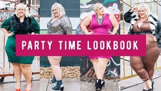 Plus Size Look Book:  Holiday Party Outfits