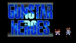 Mega Drive: Gunstar Heroes (HD / 60fps)