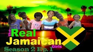 Real Jamaican Girls meet The New Girl In Town