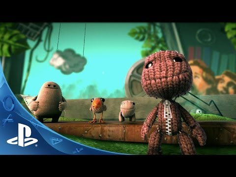 LittleBigPlanet 3 - E3 2014 Announce Trailer (PS4)