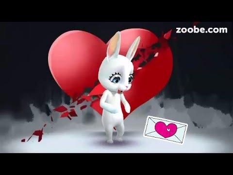 Zoobe Зайка Муж сказал, что будет меня любить :-) - Как поздравить с Днем Рождения