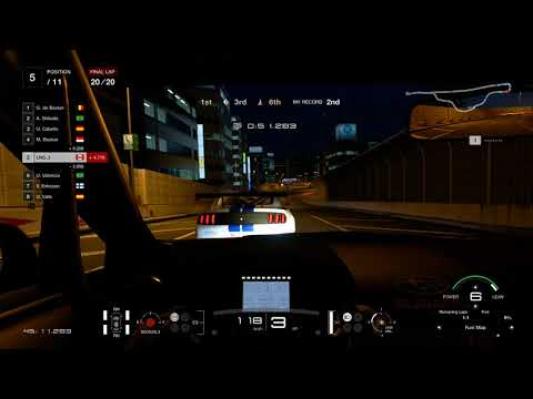 Gran Turismo Sport - Driving School 40 - Tokyo Expressway - Complete The Race Saving Fuel
