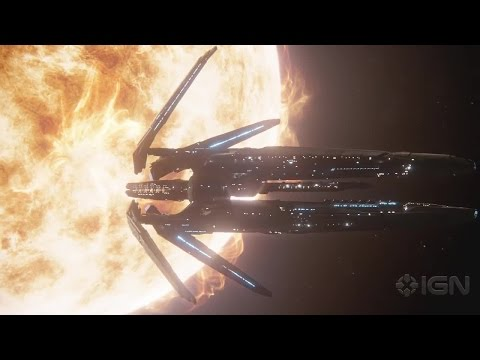 Mass Effect Andromeda: Avina Ark and Nexus Briefing Trailer